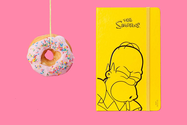 MOLESKINE 2014 辛普森家庭 The Simpsons 主題限定行事曆