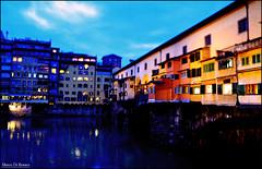Ponte Vecchio (Firenze) (Marco.db.) Tags: old bridge light italy lights florence italia ponte ita firenze pontevecchio vecchio oldbridge