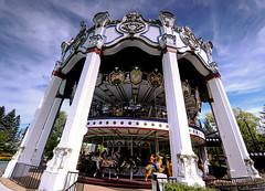 Carousel (FotodioxPro) Tags: illinois carousel themepark sixflagsgreatamerica superwideangle gurnee ultrawideangle graduatednd fotodiox fotodioxpro canoneosrebelt3i rokinon14mm wonderpana 66x85filter 6softedgefilter filtersytem
