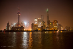 Pudong Skyline (Andrs Ceballos V.) Tags: china urban skyline night buildings river nikon cityscape view nightscape shanghai scene vista nightshots  pudong jinmaotower shangai  orientalpearltower lujiazui d600 huangpuriver   pudongskyline shanghaiworldfinancialcenter   shanghi lokatse