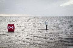 Stormy January 2014 (mliebenberg) Tags: bw lancashire lytham storms blackpool floods stannes stormyweather fyldecoast