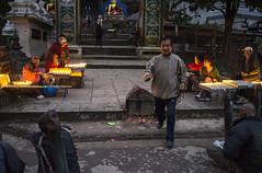 Done With My Prayers! | ! (francisling) Tags: world nepal heritage zeiss 35mm t temple site sony cybershot unesco kathmandu  sonnar  swayambhunath  rx1    dscrx1
