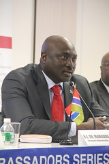 Amb. Mamadou Tangara, PR of Gambia to the UN