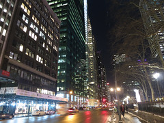 Manhattan Friday evening (Lojones13) Tags: newyork canon evening nightlights mahattan s100 aveuneofamericas