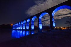 The Royal Border Bridge - Berwick (Gopostal1) Tags: bridge london robert by last was edinburgh border royal railway running line led link berwick between stephenson designed continuous the completing