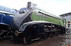 The Great Goodbye - Locomotion N.R.M.Shildon (scotrailm 63A) Tags: steam streaks a4 railways shildon