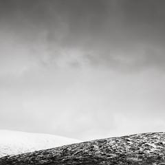 Rannoch Moor (MaggyMorrissey) Tags: monochrome scotland simplicity glencoe moor minimalist rannoch