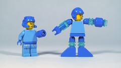LEGO Mega Men (BRICK 101) Tags: lego minifig megaman minifigure
