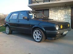 "VW Golf mk2 GTD 16"" AEZ (Coxi TD) Tags: vw golf mk2 td aez 16x7 16td"