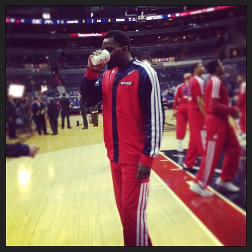 Martell Webster --- >> Pre-game #WittmanJava? #Wizards