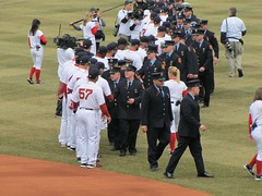 Fire Dept and Red Sox 2014 (bpephin) Tags: boston fire baseball redsox firemen fenway openingday mlb