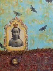 Concetta's Reliquary #2 (Jakkila) Tags: mixedmedia encaustic reliquaries