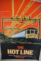 (Sam Tait) Tags: england hot electric museum speed warning poster high rail railway class line cc multiple emu express coventry ac clacton 309 unit 960101 960102 309616 309624