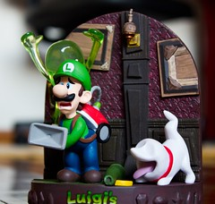 Luigi's Mansion Figurine do Club Nintendo (FaruSantos) Tags: nintendo figurine luigi clubnintendo luigismansion yearofluigi