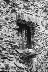 Stone window (Vitor FL) Tags: blackandwhite window architecture contrast blackwhite parks ct gilette gilettecastle haddam