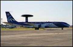 LX-N90442 - Fairford (FFD) 24.07.1999 (Jakob_DK) Tags: 1999 boeing 707 nato ffd fairford sentry boeing707 b707 riat otan e3a 707300 egva riat1999 lxn90442