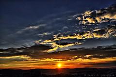 Sabadell, 18 febrer 2015, 18:12 (Perikolo) Tags: sunset sun sol clouds atardecer nubes puesta posta nvols sabadell capvespre