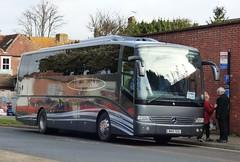 Mystic Isle M40 TEA Chichester 19/2/15 (jmupton2000) Tags: mercedes benz coach tourismo m40tea