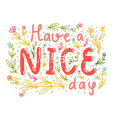 Have a nice day (ecardsforu) Tags: wedding party summer flower cute love nature floral beautiful field grass illustration print fun design spring nice colorful day mood friendship good background cartoon decoration celebration doodle invitation card wish vector wishing haveaniceday