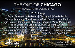 Out of Chicago Photography Conference Lineup 2015!