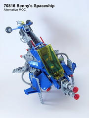 Benny Spaceship Alternative Build (Piotr Turecki) Tags: classic lego space benny spaceship 70816