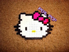 Hello Kitty (kungfukao) Tags: nu hellokitty frog pixelart bead japanimation hama perler robo magus retrogaming crono chronotrigger marle hamabeads perlerbead perlerbeads schala perlerart hamabead beadsprite perlersprite finalfantasyperler perlerhellokitty hellokittyperler perlerchronotrigger chronotriggerperler