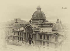 CEC building in Bucharest (sisterssinister) Tags: outstandingforeignphotographersvisitingromania