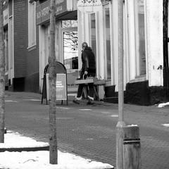 at work (Landanna) Tags: bw white black shop winkel zwart wit atwork sort hvid zw