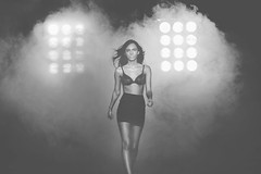 Runway Lingerie (Epica Pictures) Tags: woman sexy girl beauty model smoke lingerie approved mole runway richardson