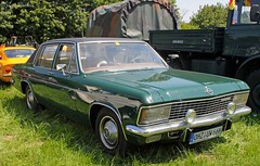 Admiral (Schwanzus_Longus) Tags: green classic chevrolet beauty car sedan vintage germany design us muscle engine chrome german restored vehicle oldtimer admiral saloon v8 opel asendorf