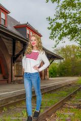 Model Jillian 3 (jlucierphoto) Tags: portrait hot sexy portraits model outdoor massachusetts blonde lovelyflickr