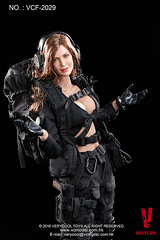 VERYCOOL TOYS VCF-2029 Black Female Shooter - 17 (Lord Dragon ) Tags: hot female toys actionfigure doll angelinajolie verycool onesixthscale 16scale 12inscale
