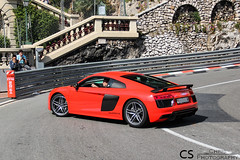 New Audi R8 (Chris Photography.) Tags: cars car canon c montecarlo monaco mc plus audi supercar fairmont spotting hairpin v10 supercars r8 tmm topmarques v10plus chrisphotographymc