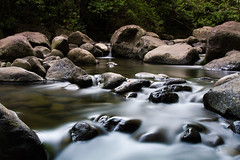 Peace like a river (adine-) Tags: mountain motion nature water beautiful canon river photography hawaii amazing rocks stream long exposure paradise peaceful maui filter iao 7d nd breakthrough 2470mm