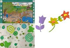 Birthday Card (Hobbycorner) Tags: card birthday greeting flowers usa west bridge bridges wildlife wild art creative creativity crayola pencils beauty