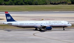 US Airways - N544UW - A321-231 (Charlie Carroll) Tags: tampa florida tampainternationalairport ktpa
