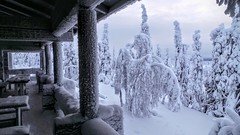 A very cold day in Finland (MoniqueM68) Tags: snow cold ice finland europa lapland