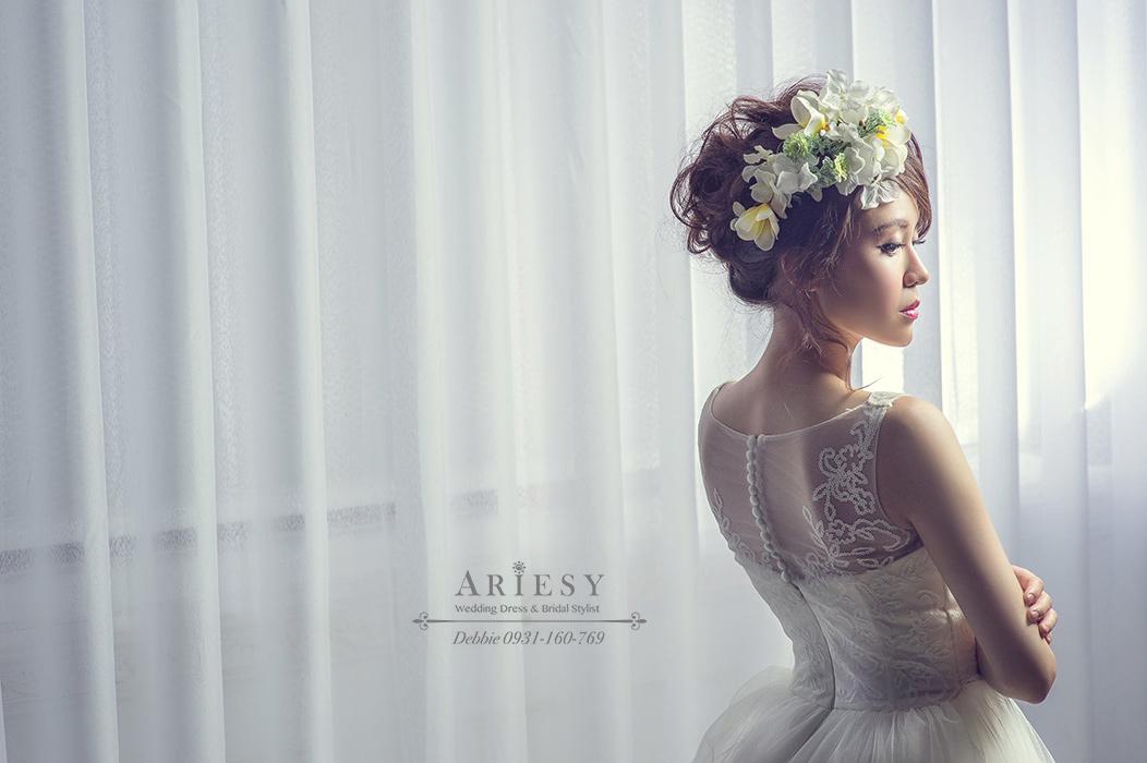 攝影師葉子團隊, 自助婚紗,自主婚紗,新秘Debbie,ARIESY愛瑞思品牌訂製手工婚紗,台北新秘,逆光照