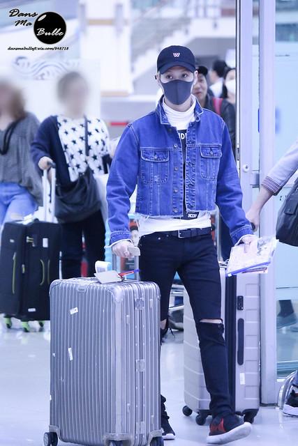 160504 Taemin @ Aeropuerto Gimpo {Llegada a Corea} 26776450701_a833f5fa67_z