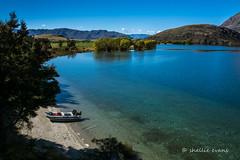 Glendhu Bay, Lake Wanaka (flyingkiwigirl) Tags: lake reflections river bay kayak mt peak bluffs emerald wanaka roys paddock aspiring matukituki glendhu