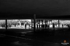 Under (Luiz Contreira) Tags: street brazil people bw southamerica brasil canon 50mm blackwhite shadows sopaulo parks streetphotography pb pretoebranco amricadosul fotografiaderua brazilianphotographer fotgrafosbrasileiros canon6d
