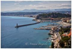 Le port de Nice (armandbrignoli) Tags: nice ville port pointu bateau barque paysage cte rivage azur city harbor sea boat landscape canon 5d2