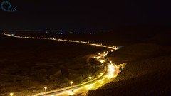 Western Mountain Road (L.Y.S Photography) Tags: road night photo nikon long exposure shot libya lys    d5500