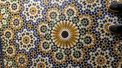 Zellij Tile 10 (macloo) Tags: geometric architecture tile design morocco moorish marrakech decor zellij bahiapalace