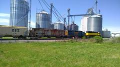 NY Susquehanna & Western RR, Sangerfield, NY (CNYrailroadnut) Tags: new york railroad ny rr delaware erie ra lackawanna susquehanna railraod sangerfield westernn lackawannawesternrr