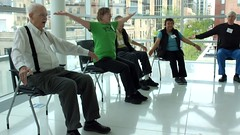 (sfrikken) Tags: david mike jeff senior sarah paul for bill dance video sara exercise susan library group central center falls glen cassie madison ballroom becky fred occupational balance irene therapy roger kelli pia fitness patty prevention basics waltz physical darcie stephani