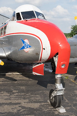 D-INKA De Havilland DH 104 Dove 17 (Disktoaster) Tags: plane airplane airport dove aircraft aviation flugzeug spotting dinka ltu spotter palnespotting pentaxk3