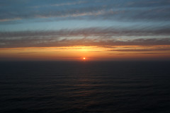 (duartemachadoo) Tags: ocean blue sunset sea sky sun portugal colors clouds landscape paradise horizon calm