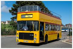 Cardiff Bus 360 (Next Stop Please) Tags: alexander opentop bristolvrt cardiffbus bwscaerdydd cardifftransportpreservationgroup barryfestivaloftransport2016