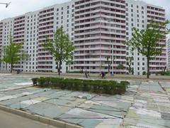 Residential building in Pyongyang (Daniel Brennwald) Tags: northkorea pyongyang dprk residentialbuilding nordkorea
